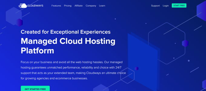 Cloudways - best managed Woocommerce hosting