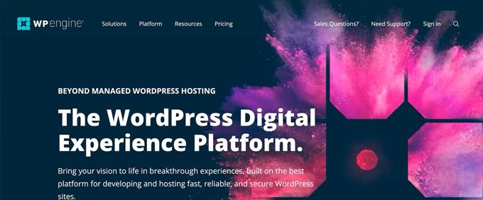 WP-Engine - best managed Woocommerce hosting