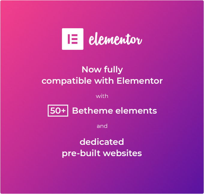 Elementor compatibility
