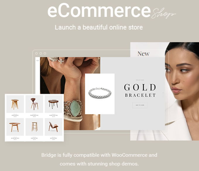 Bridge theme review Woocommerce
