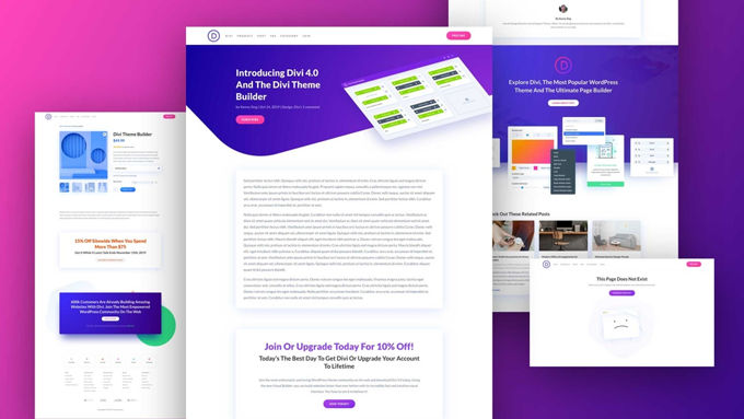 Create your own website Divi