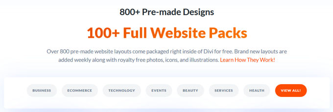Divi web designs [2021]