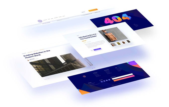 Divi Theme Builder version 4