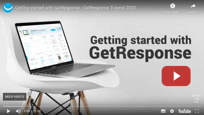 GetResponse review tracking