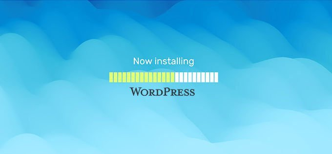 Install Wordpress by hand 2020